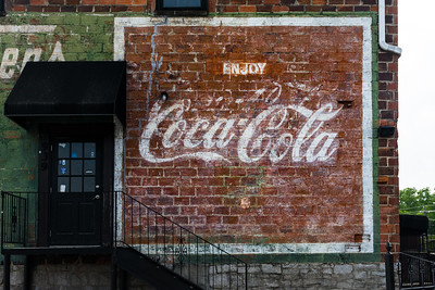 GA, Conyers - Coca-Cola Wall Sign 03