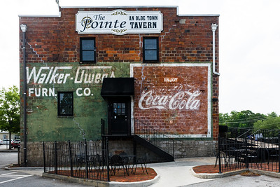 GA, Conyers - Coca-Cola Wall Sign 02