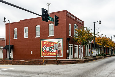 GA, Douglasville - Coca-Cola Wall Sign
