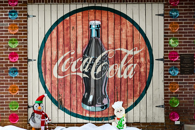 GA, Franklin - Coca-Cola Wall Sign 02