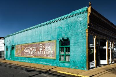 GA, Ft. Gaines - Coca-Cola Wall Sign