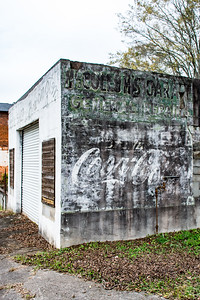 GA, Grantville - Coca-Cola Wall Sign 03