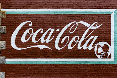 GA, Grantville - Coca-Cola Wall Sign 02