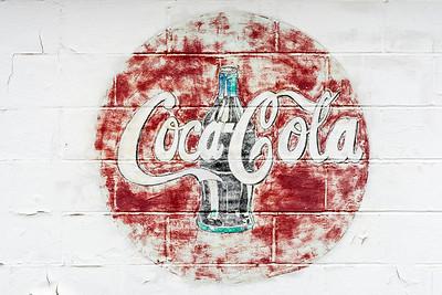 GA, Ila - Coca-Cola Wall Sign 02