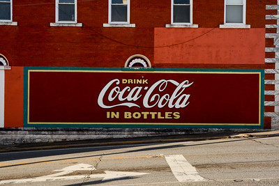 GA, Jasper - Coca-Cola Wall Sign 02