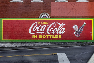 GA, Jasper - Coca-Cola Wall Sign 04