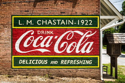 GA, Lakemont - Coca-Cola Wall Sign 02