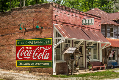 GA, Lakemont - Coca-Cola Wall Sign