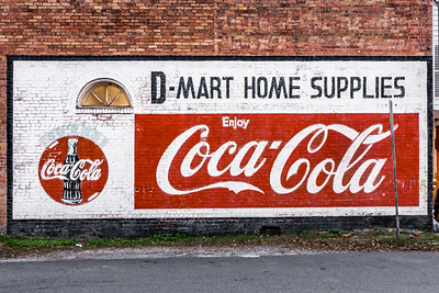 GA, Lavonia - Coca-Cola Ghost Sign 02