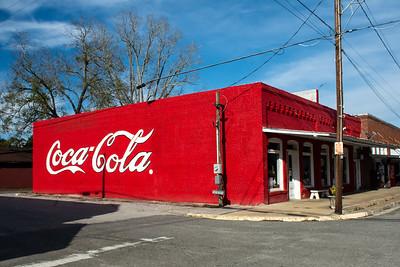 GA, Lumber City - Coca-Cola Wall Sign