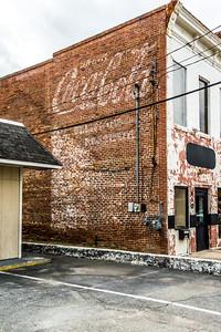 GA, Macon -Coca-Cola Wall Sign
