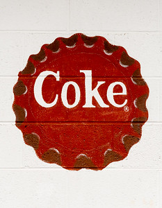 GA, Maysville - Coca-Cola Wall Sign 04