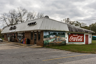 GA, Maysville - Coca-Cola Wall Sign - Maysville, GA