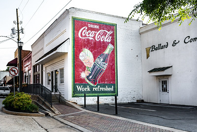 GA, McDonough - Coca-Cola Wall Sign 04