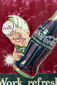 GA, McDonough - Coca-Cola Wall Sign 03