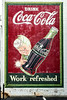 GA, McDonough - Coca-Cola Wall Sign 02