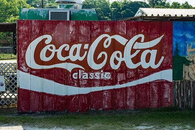 GA, McRae - Coca-Cola Wall Sign 02