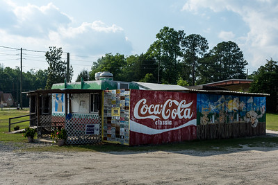 GA, McRae - Coca-Cola Wall Sign