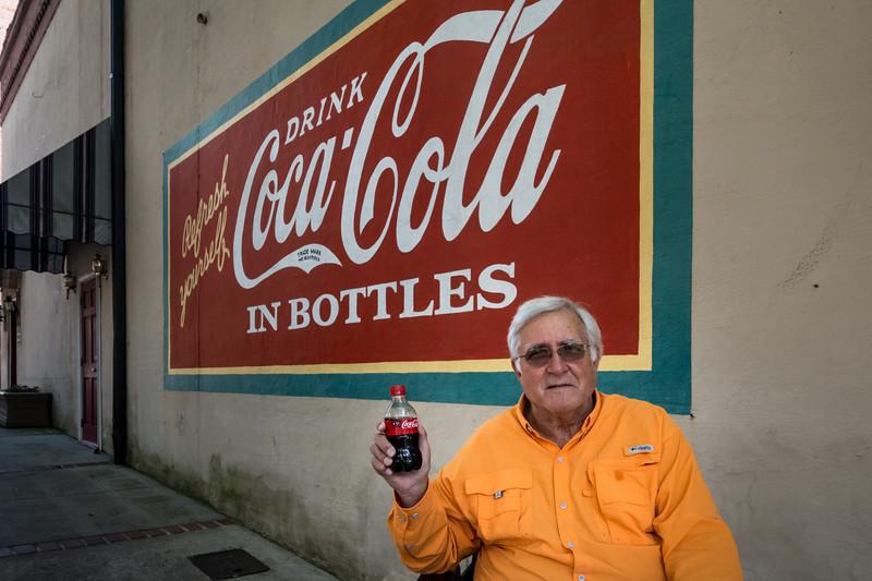 GA, Milledgeville - Coca-Cola Wall Sign 04