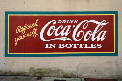 GA, Milledgeville - Coca-Cola Wall Sign 03