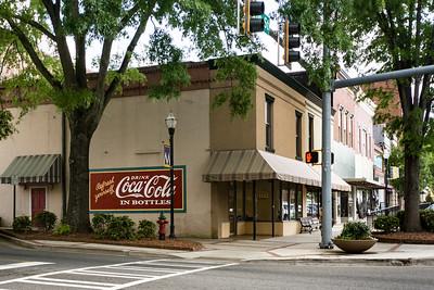GA, Milledgeville - Coca-Cola Wall Sign