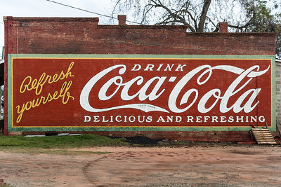 GA, Plains - Coca-Cola Wall Sign 02