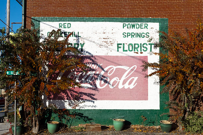 GA, Powder Springs - Coca-Cola Wall Sign 04