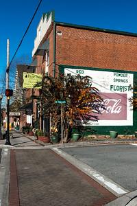 GA, Powder Springs - Coca-Cola Wall Sign 03