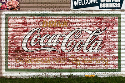 GA, Rockmart - Coca-Cola Wall Sign 02