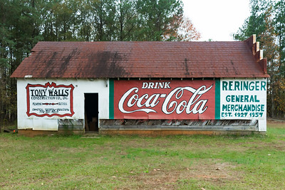 GA, Roopville - Coca-Cola Wall Sign 03