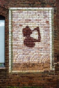 GA, Sandersville - Coca-Cola Wall Sign 04
