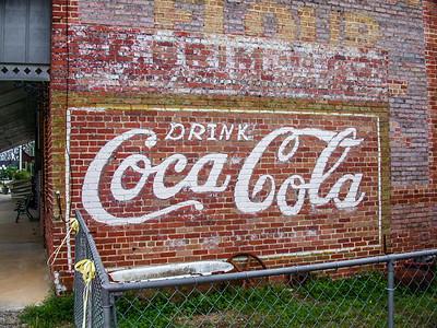 GA, Sasser - Coca-Cola Wall Sign