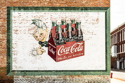 GA, Sylvester -Coca-Cola Wall Sign 02