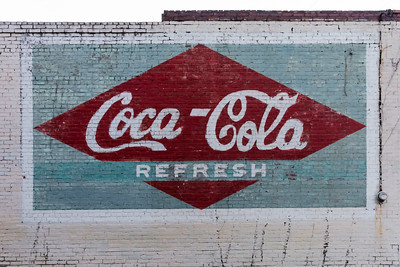 GA, Tennille - Coca-Cola Wall Sign 02