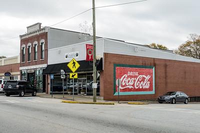 GA, Villa Rica - Coca Cola Wall Sign