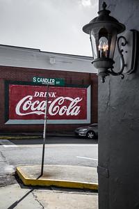 GA, Villa Rica -Coca-Cola Wall Sign