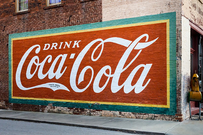 GA, Warrenton - Coca-Cola Wall Sign 02
