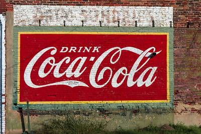 GA, Warrenton - Coca-Cola Wall Sign 06