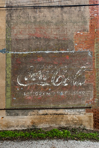 GA, Warrenton - Coca-Cola Ghost Sign 04