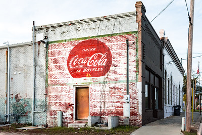 GA, Wrightsville - Coca-Cola Wall Sign