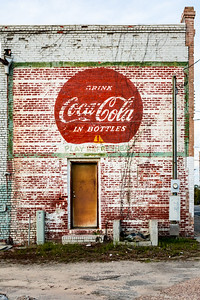 GA, Wrightsville - Coca-Cola Wall Sign 02