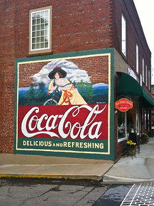 NC, Burnsville -Coca-Cola Wall Sign