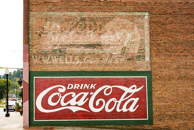 NC, Canton - Coca-Cola Wall Sign 02