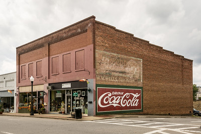 NC, Canton - Coca-Cola Wall Sign