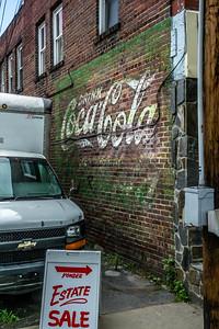 NC, Waynesville - Coca-Cola Wall Sign 02