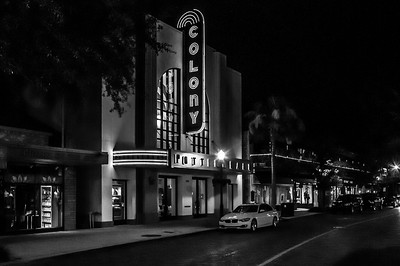 Colony Theater - Winter Park, FL (BW)