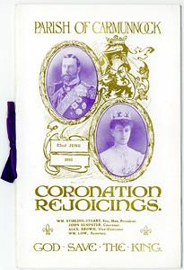 KG V Coronation 1911