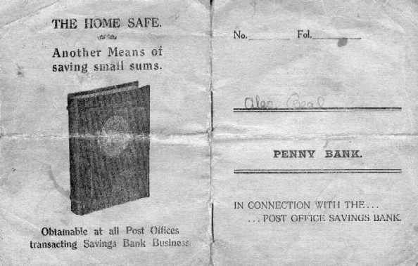 <font size=3><u> - Penny Bank Book  - </u></font> (BS0172)