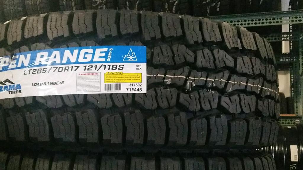 Tires Near Me Open Now >> Mazama Open Range Tire Review Dodge Cummins Diesel Forum