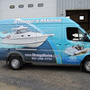 "Vehicle Wrap installed on a Sprinter Van for Strong's Marine.  <br /> <a href=""http://www.skinzwraps.com"">http://www.skinzwraps.com</a>"